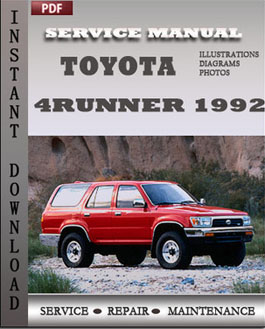 toyota 4runner owners manual 2014