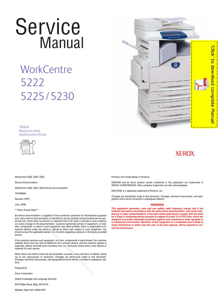 xerox workcentre 7132 user manual