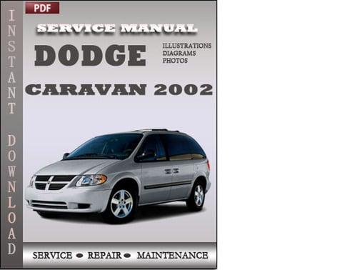 2000 dodge caravan service manual pdf