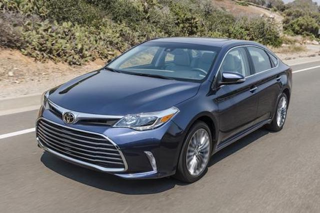 2017 toyota avalon owners manual