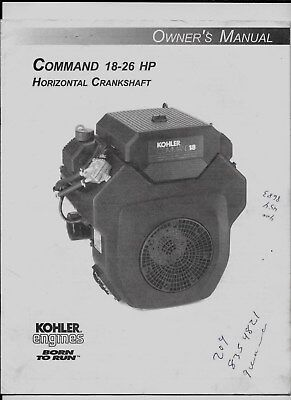 kohler command 18 service manual
