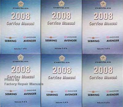 2008 chrysler sebring service manual