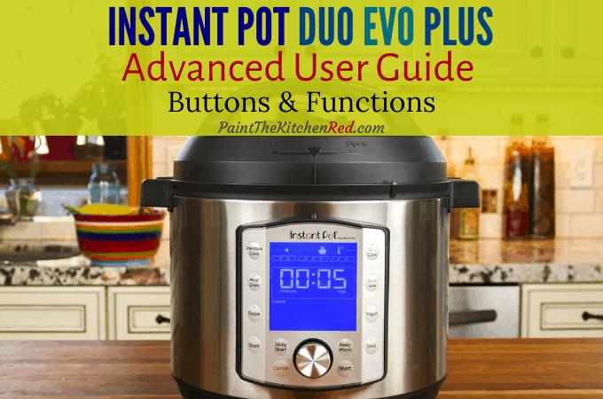 instant pot user manual duo plus