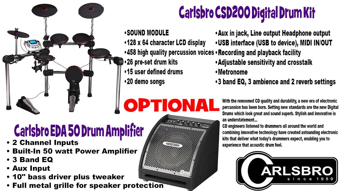 carlsbro csd 200 user manual