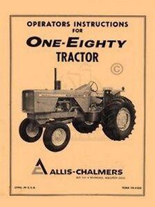 allis chalmers 180 service manual