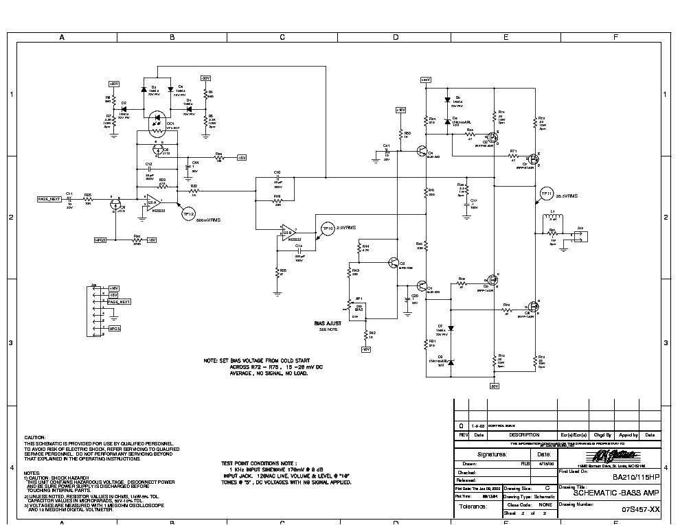 ampeg ba 115 service manual