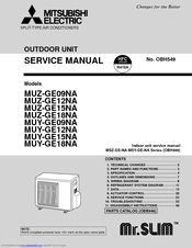 mitsubishi msz ge18na owners manual