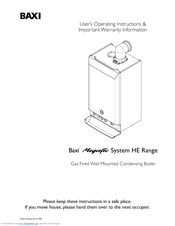baxi megaflo 2 system manual
