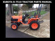 kubota b7510 owners manual pdf