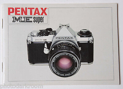 pentax me super owners manual