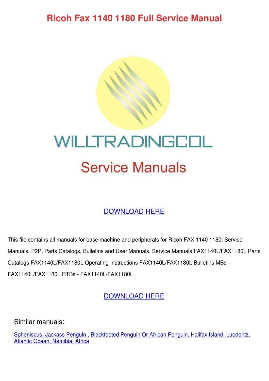 ricoh pro c651ex service manual