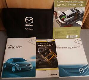 2011 mazda 6 owners manual