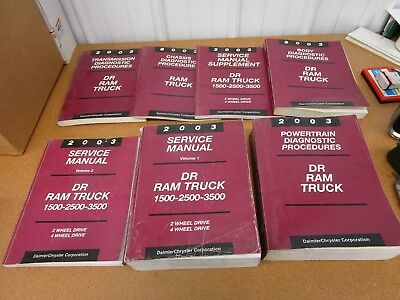2003 dodge ram 1500 service manual