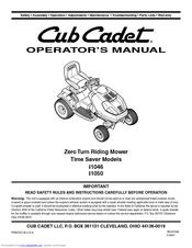 cub cadet 2160 owners manual