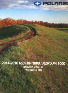 2014 polaris rzr 1000 service manual