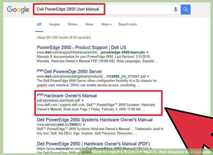 dell poweredge 2950 user manual