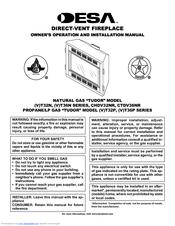 desa 5316 a owners manual
