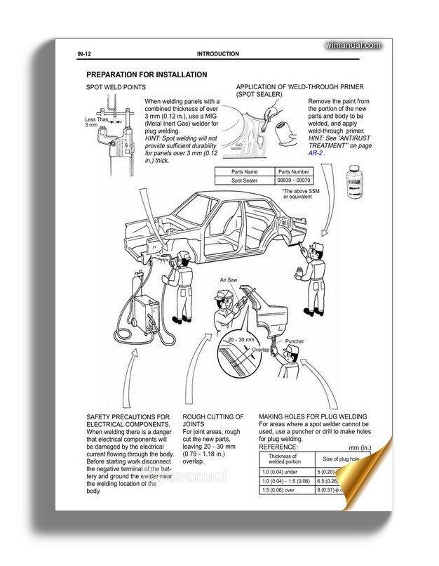 2008 toyota corolla service manual pdf
