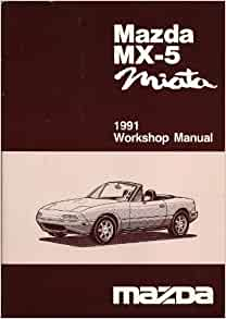 1991 mazda miata owners manual