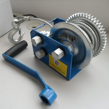 manual cable winch for 1 2 cable