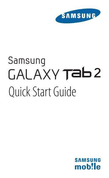 samsung galaxy tab 2 manual pdf