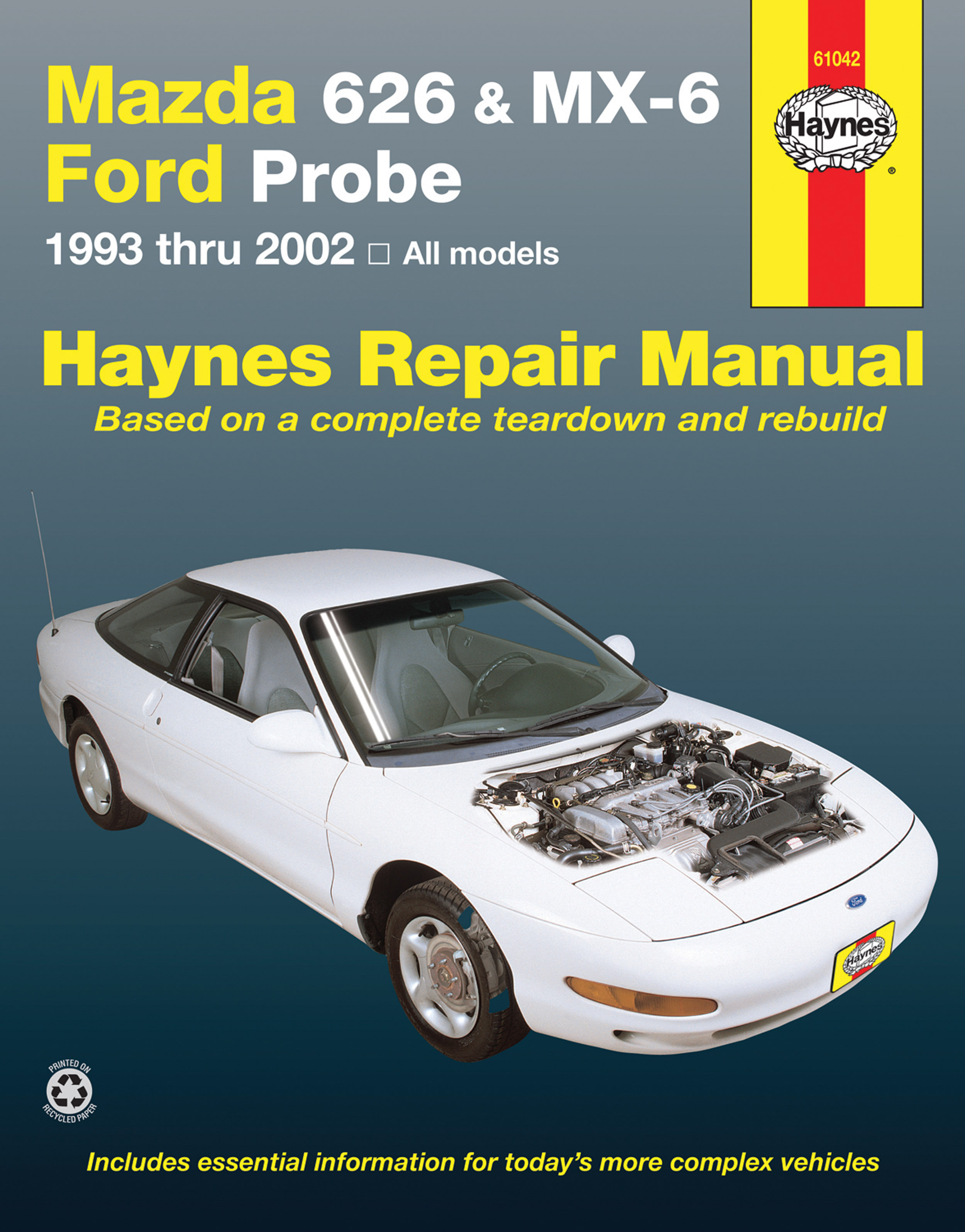 ford probe service manual pdf