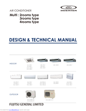 fujitsu air conditioner service manual