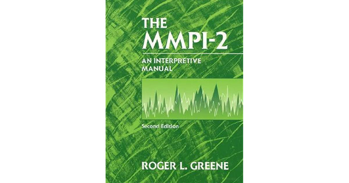 greene mmpi 2 interpretive manual