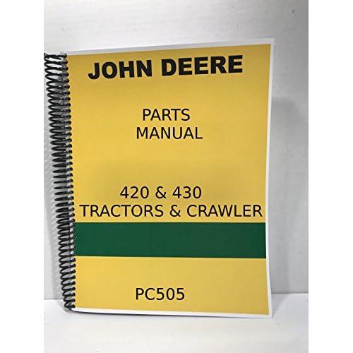 john deere 420 owners manual