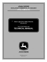 john deere gator cx service manual