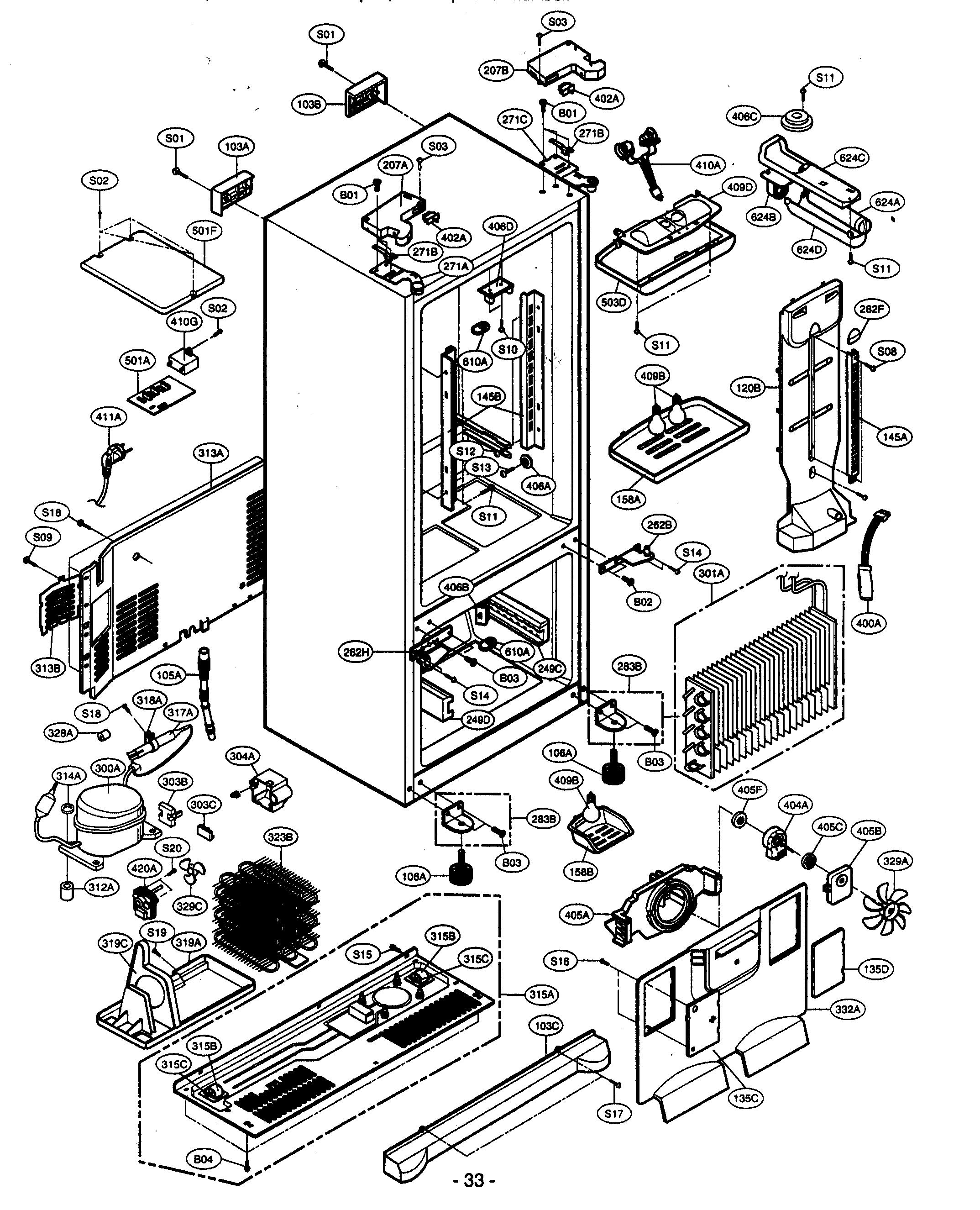 kenmore elite refrigerator model 795 service manual