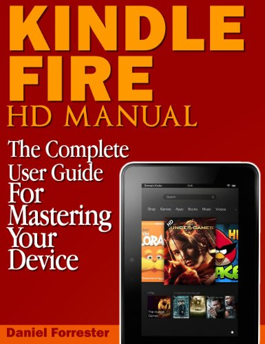 kindle fire hd user manual download