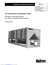 mcquay ags chiller service manual