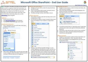 ms excel user manual pdf