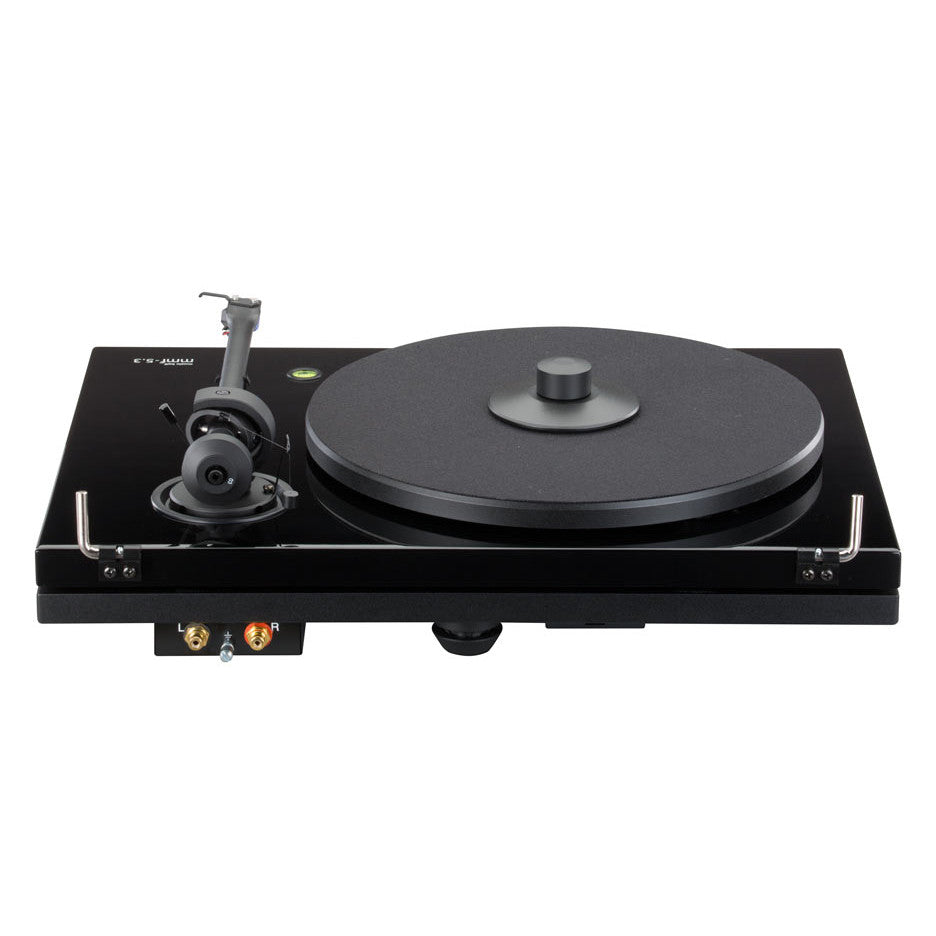 music hall mmf 2.3 black 2 speed manual audiophile turntable