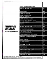 nissan 240sx service manual pdf