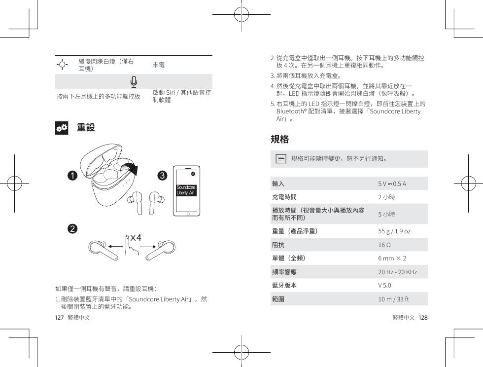 soundcore liberty air user manual